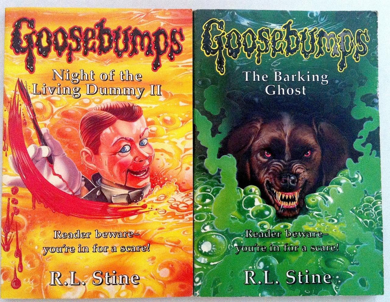 Goosebumps Book Cover Template : Video ranking all original goosebumps covers