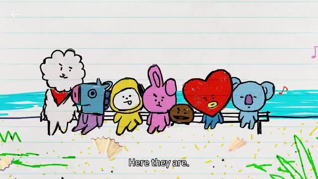 BTS, Kendi Tasarımları Olan LINE FRIENDS Karakterlerini Gösterdiler - KoreZin