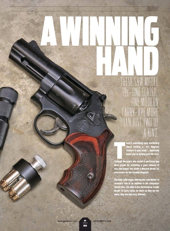 Smith and Wesson: Model 19 Performance Center Carry Comp