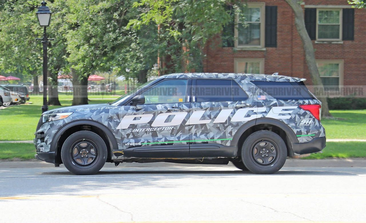 2020 Ford Police Interceptor Utility Is America's Fastest 'Cop Car', This Bodes Well For The New ...