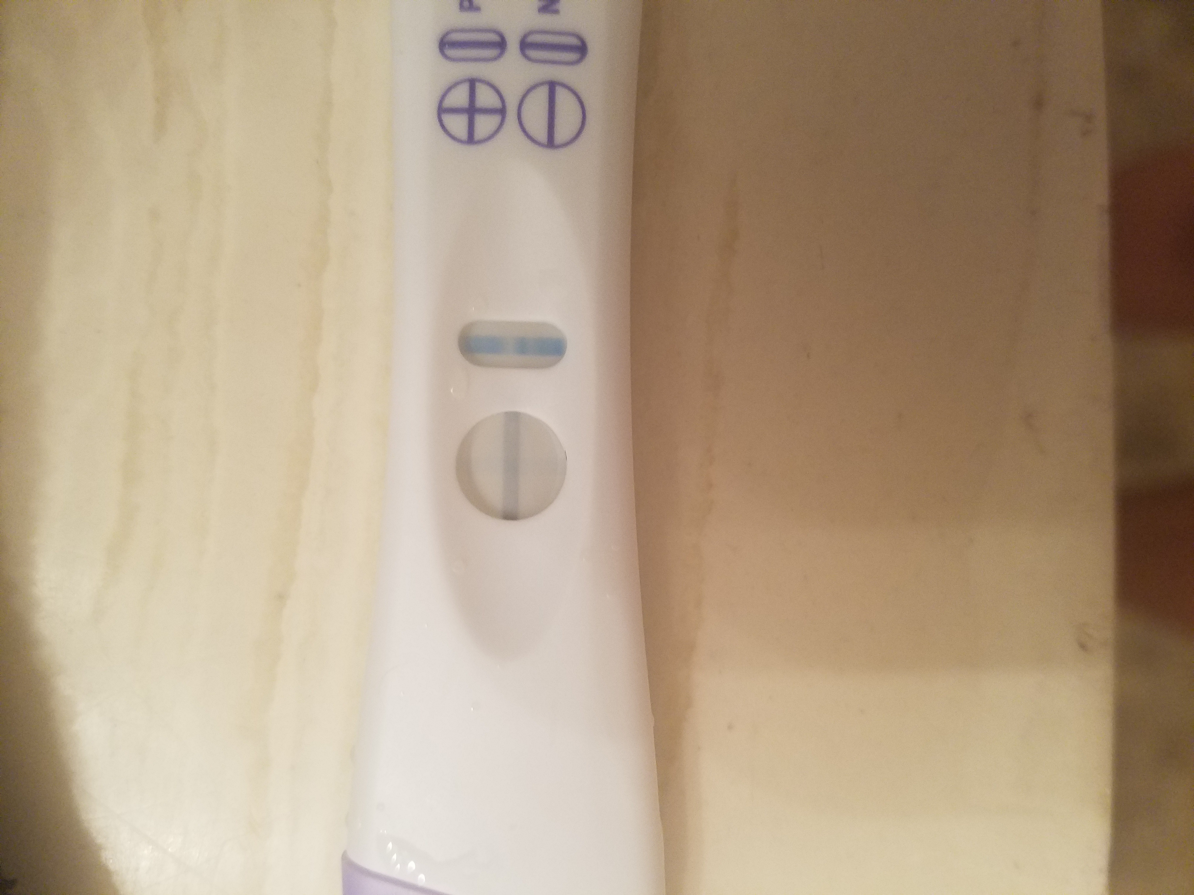 how to make a pregnancy test say positive