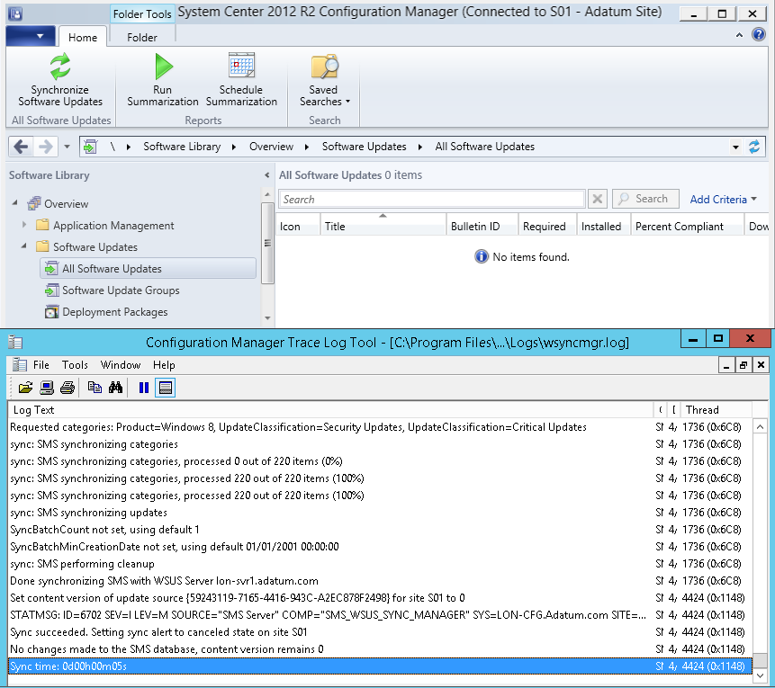 Installing WSUS for Configuration Manager 2012 R2 – Prajwal