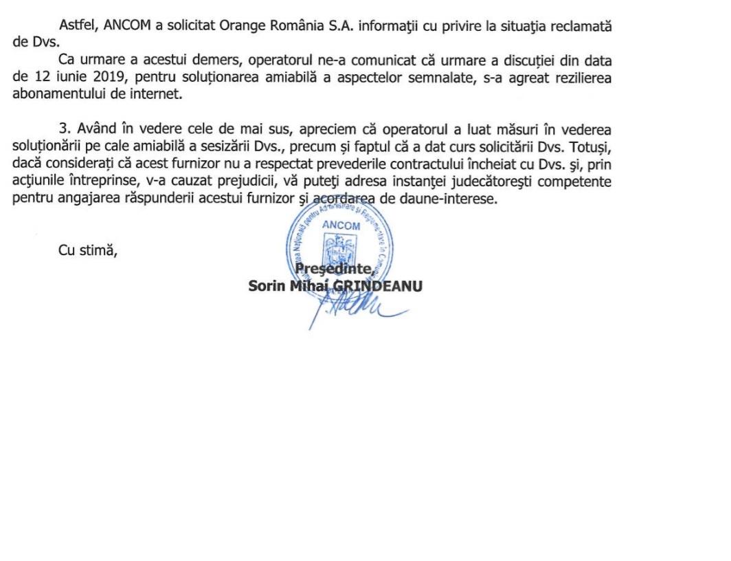 Reziliere contract cu Orange România ⋆ Blog 7heaven.ro