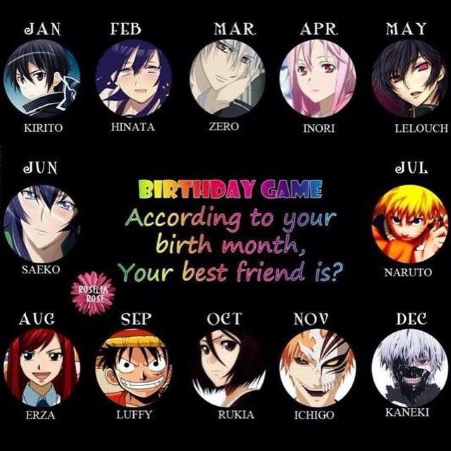 """Anime Characters Birthday September 5 : Search results for """"birthstone signs calendar"""