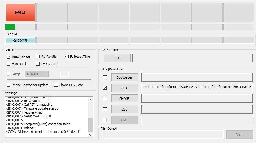 Odin 3 04 Pour Samsung Galaxy S4 I9505 - xsonarvid