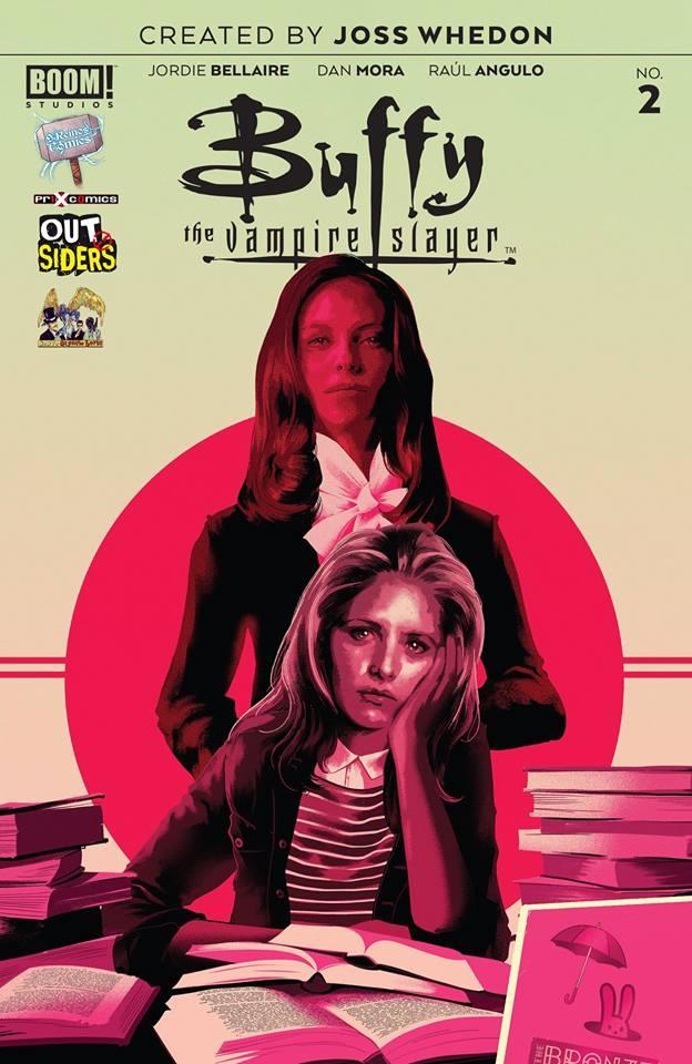 Actualización 04/04/2019: Gracias a Heisenberg, Galletas y Nick Valentine les traemos el numero 2 de la nueva Buffy. Drusilla, la autoproclamada Maestra y su mascota, Spike, hacen su debut con la mirada puesta en Buffy. Mientras tanto, Giles está decidido a enseñarle a Buffy sobre su destino, responsabilidad, bla, bla, bla... ¿puede alguien decirle que se calme? ¿Qué tan malo puede llegar a ser?