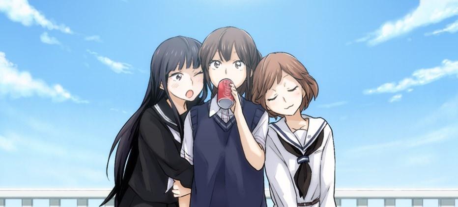 Anime yuri dating sim