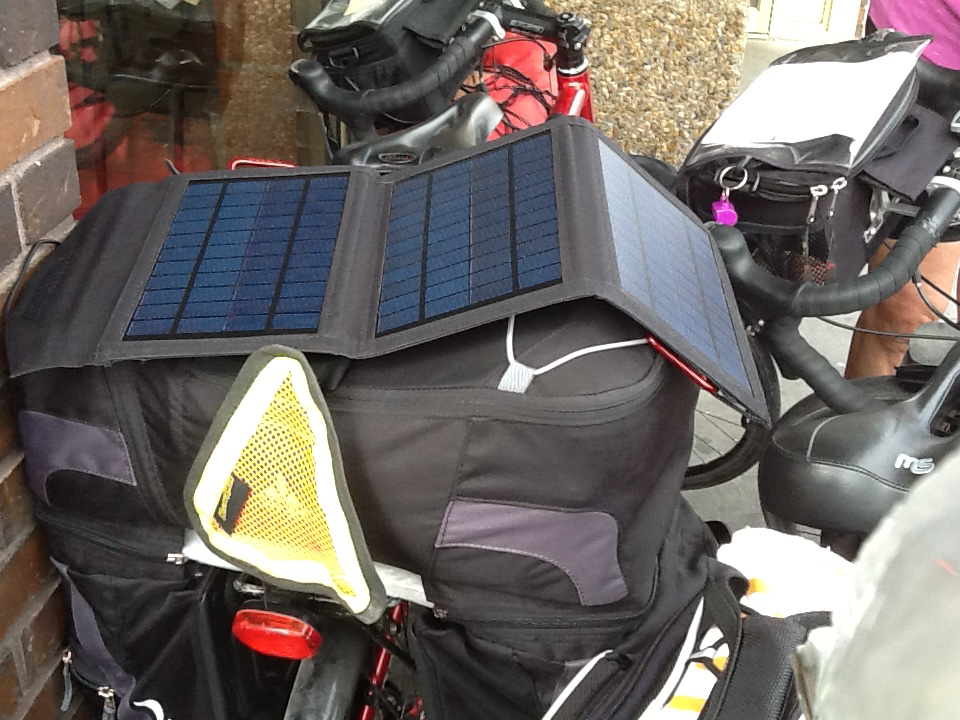 Solar Panel Recommendations For Bicycle Touring Cyclingabout