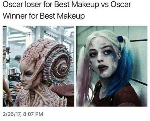 Best makeup oscar
