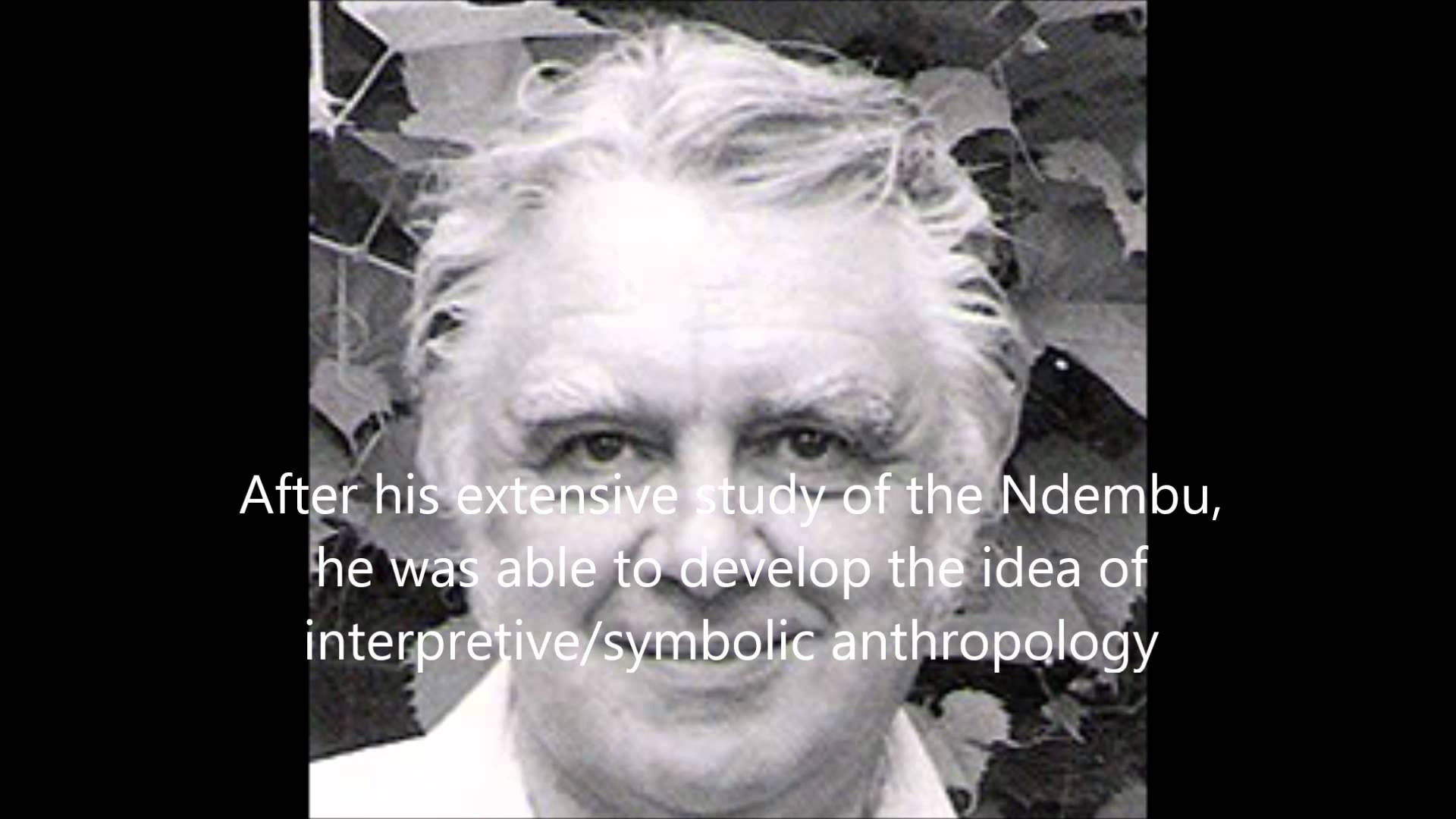 Day 24 Symbolic And Interpretive Theories Anthropology Man In