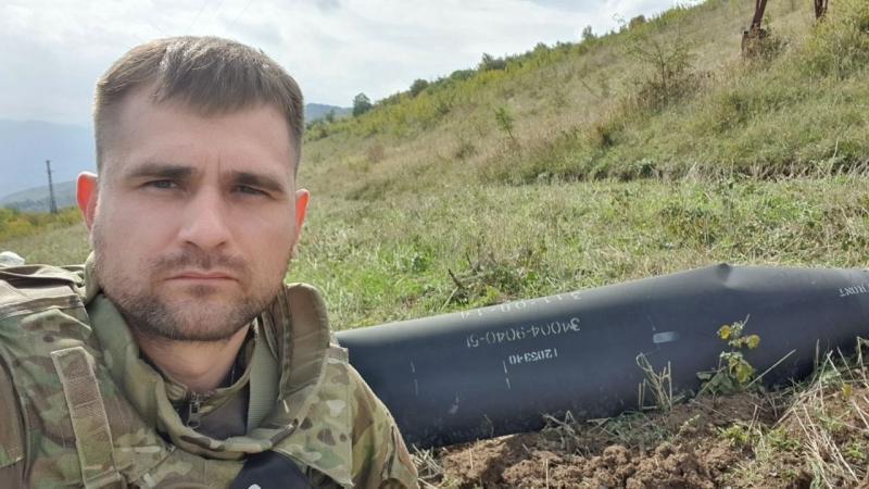 Военкор Харченко в районе Гадрута.
