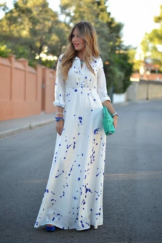 Long Summer Dresses - The Summertime Fashion Trend · Talk Shop ...