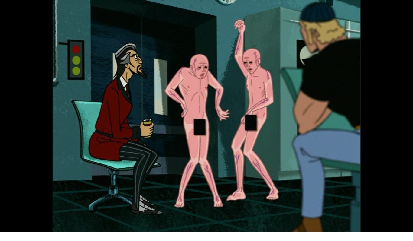 Venture brothers naked twins