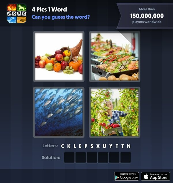 pics 1 word 7 letters solver all solved 4 pics 1 word words solver 4