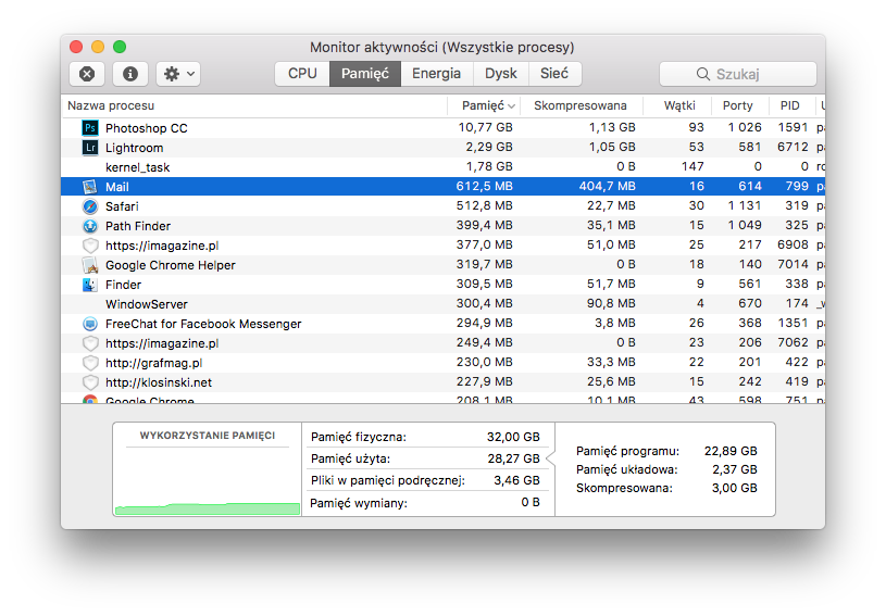 Czy potrzebujemy 32 GB RAM-u? | iMagazine
