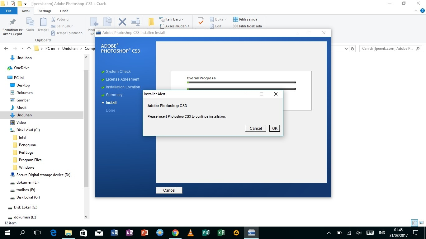 Download Gratis Adobe Photoshop CS3 Full Version Terbaru