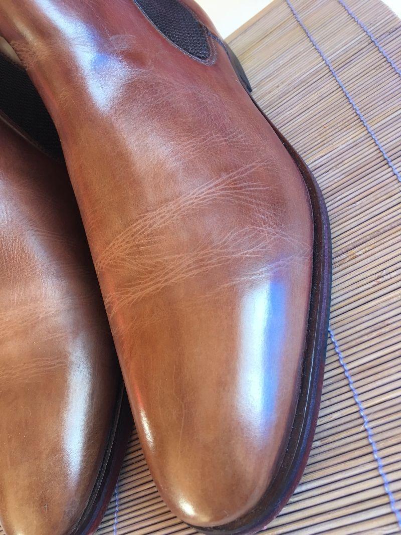 Comment nettoyer et entretenir des chaussures en cuir pour - Comment nettoyer des chaussures en cuir sans cirage ...