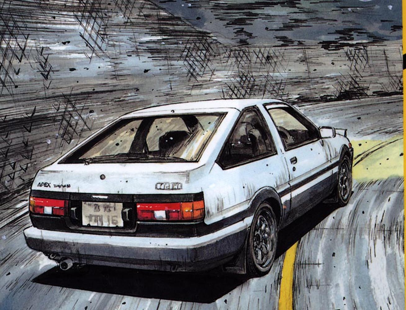 Why do we love initial d