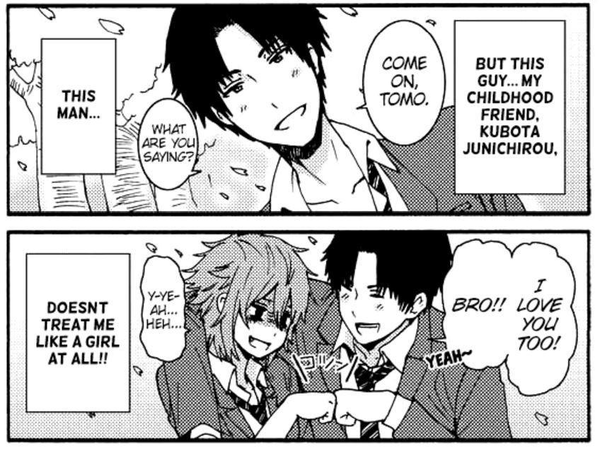 نتیجه تصویری برای Tomo-chan Is a Girl! manga