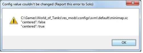 Wot xvm not working after 99 patch