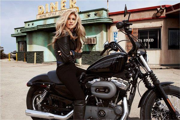 Somewhere On A Desert Island,She Rides A Harley Davidson…Open Thread