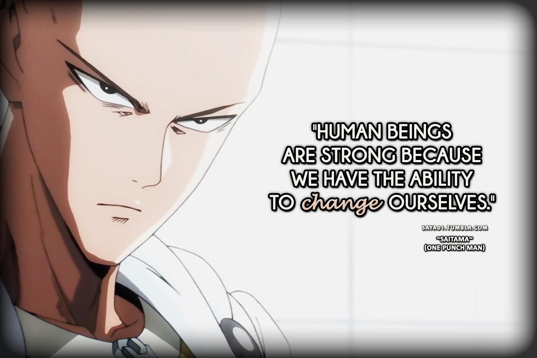 Peer Pressure Quotes Saturday Anime Quotes Saitama · Video Game Facts · Disqus