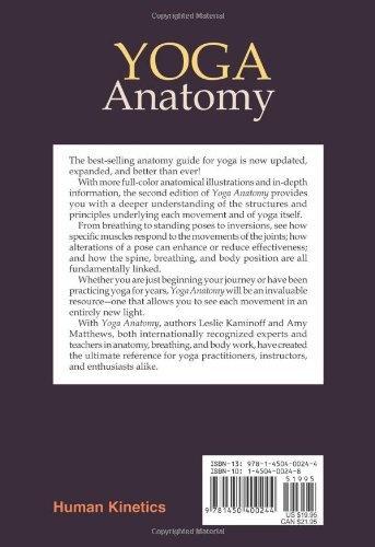 Lire En Ligne Yoga Anatomy Livre Par Leslie Kaminoff · The 5th Wave ...