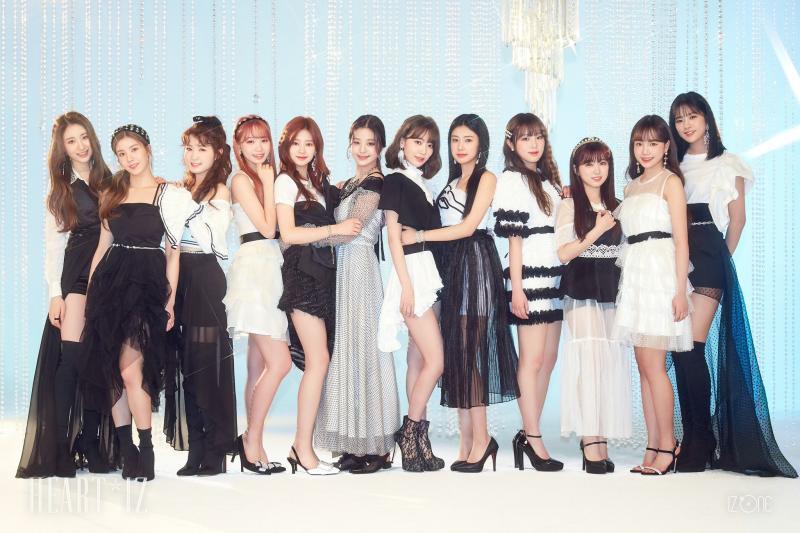 IZ*ONE members profile
