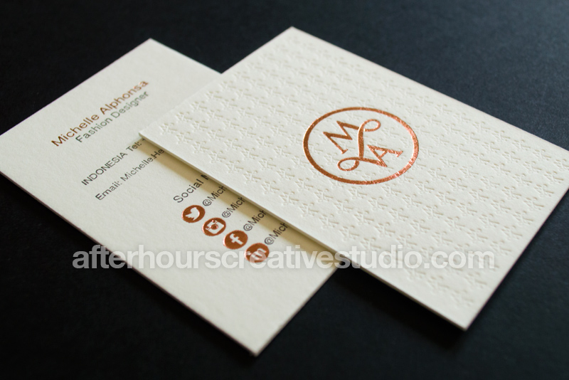 Luxury Business Cards Buy Online From After Hours Creative Studio