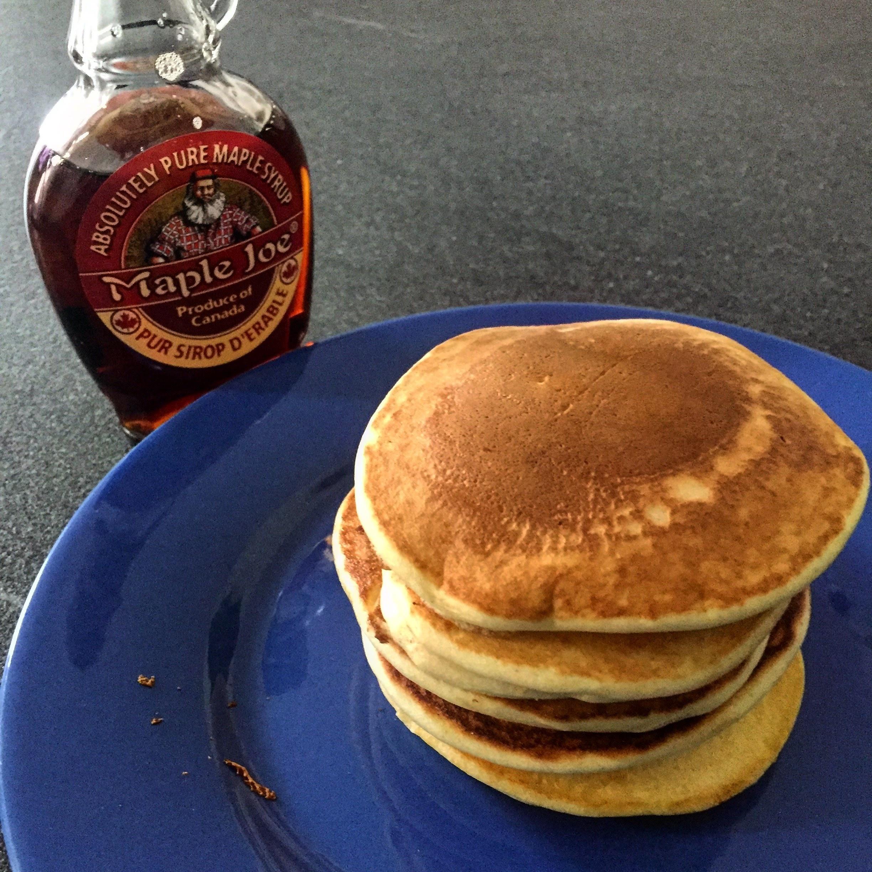 Pancakes authentiques au sirop d rable ma meilleure recette - Recette pancakes herve cuisine ...