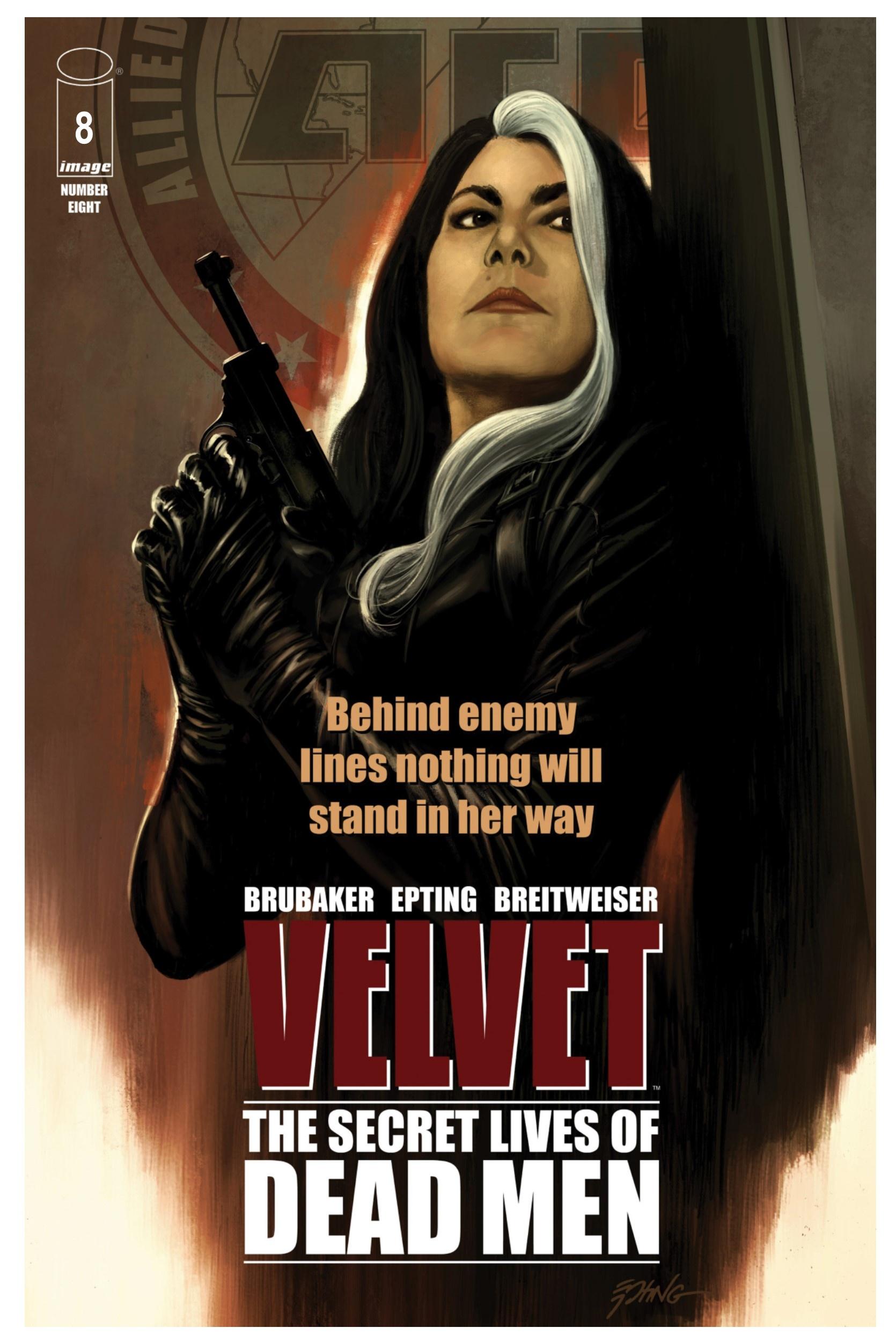 Actualización 09/04/2019: Gracias a un tradumaquetador anonimo les traemos los numeros 7 y 8 de Velvet. Velvet lleva su batalla directamente al corazón de la sede de la agencia, literalmente.