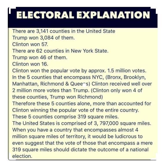 Electoral Explanation