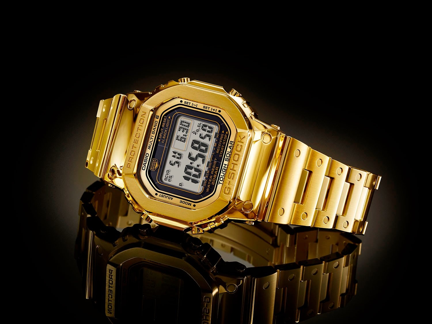 Casio G-shock Solid Gold Watches