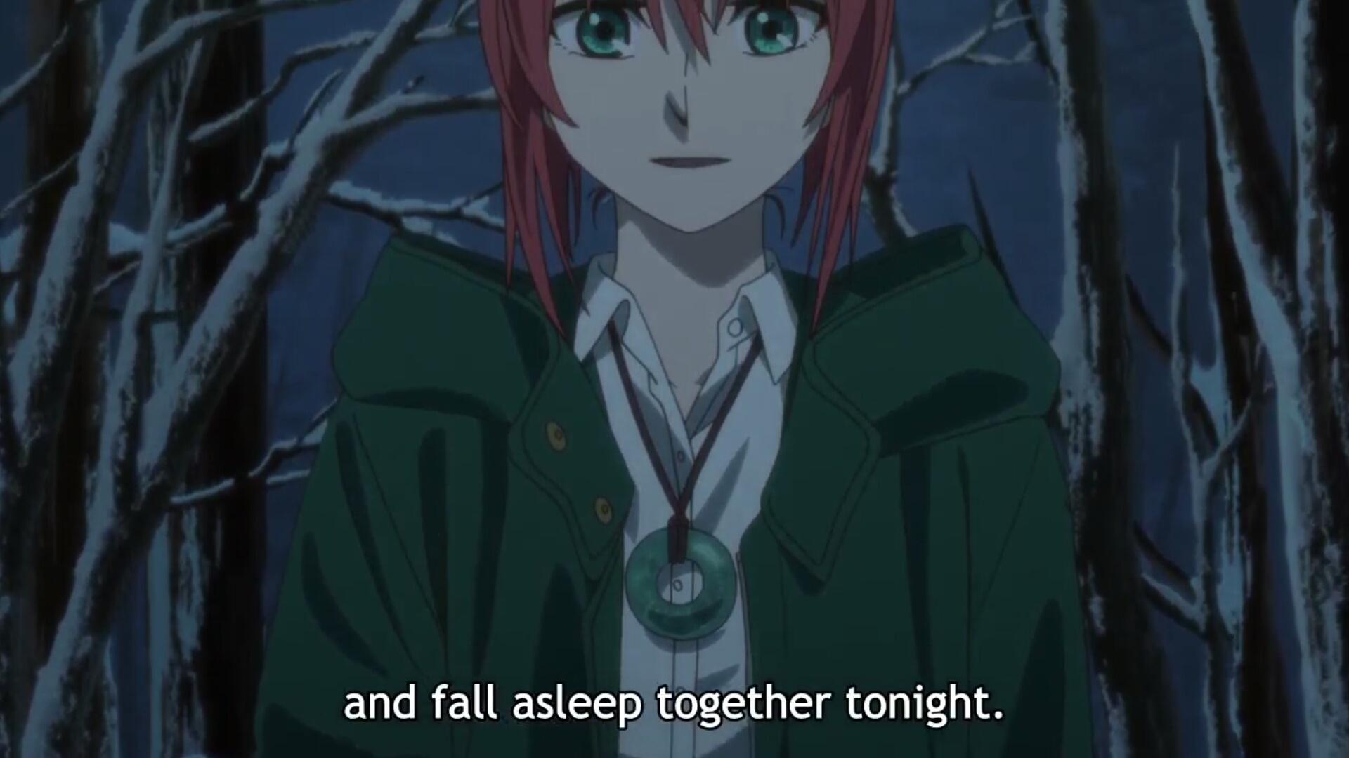 The Ancient magu's bride (Mahoutsukai no Yome) Ep 18 · Anime