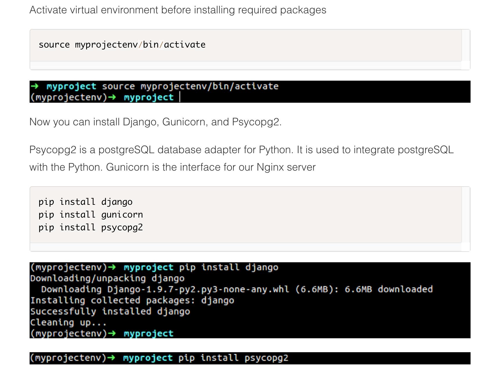 How to Deploy a Django Application on DigitalOcean   Codementor