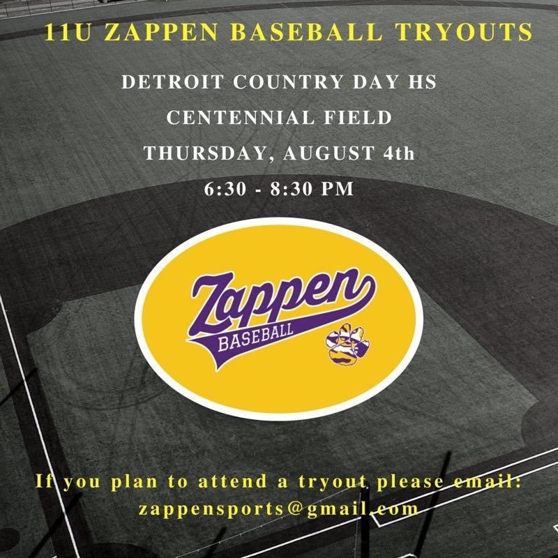 11U Zappen Tigers · Michigan Youth Baseball Forums · Disqus