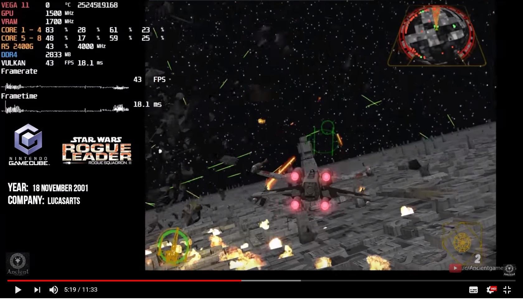 Dolphin Emulator | Ryzen 5 2400G APU | Gamecube and Nintendo